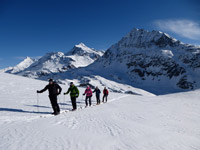 Skiing the Haute Route.