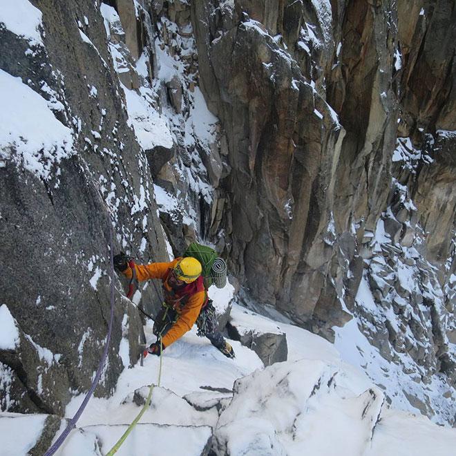 Climbing Mt Kenya