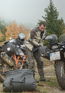 Ortlieb Motorcycle Panniers