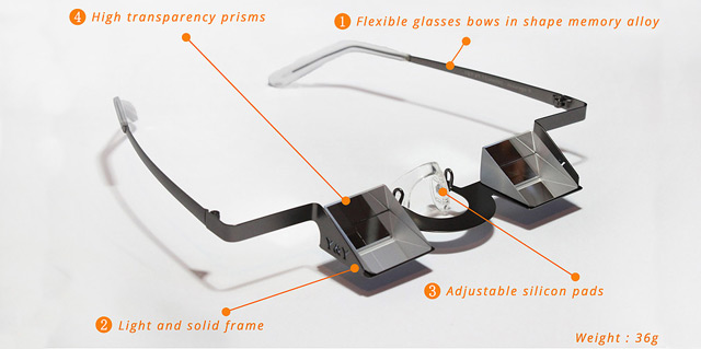 Y&Y Classic Belay Glasses Features