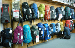Bogong pack display