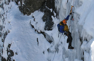 Mt Buller ice climbing