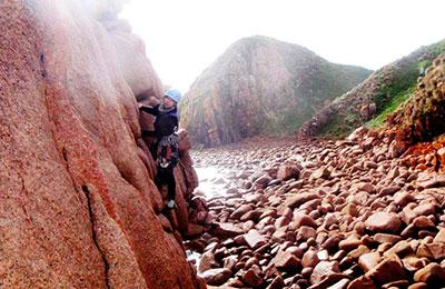 La Sportiva Mythos, Cape Woolamai. Photo Mac Brunckhorst