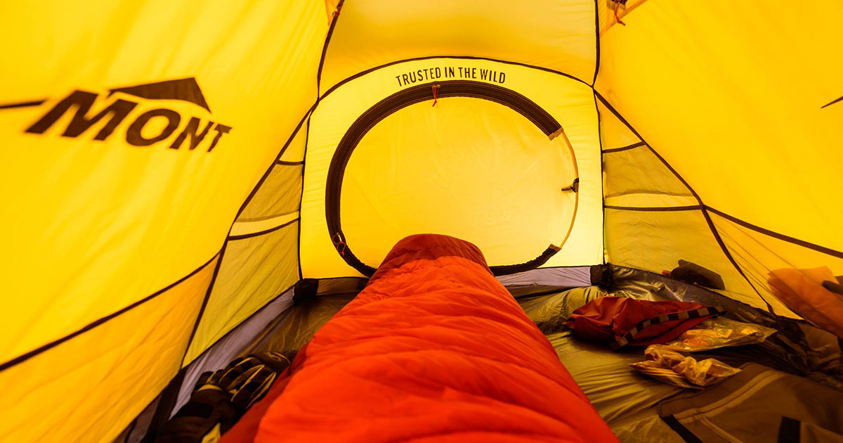 Mont sleeping bag