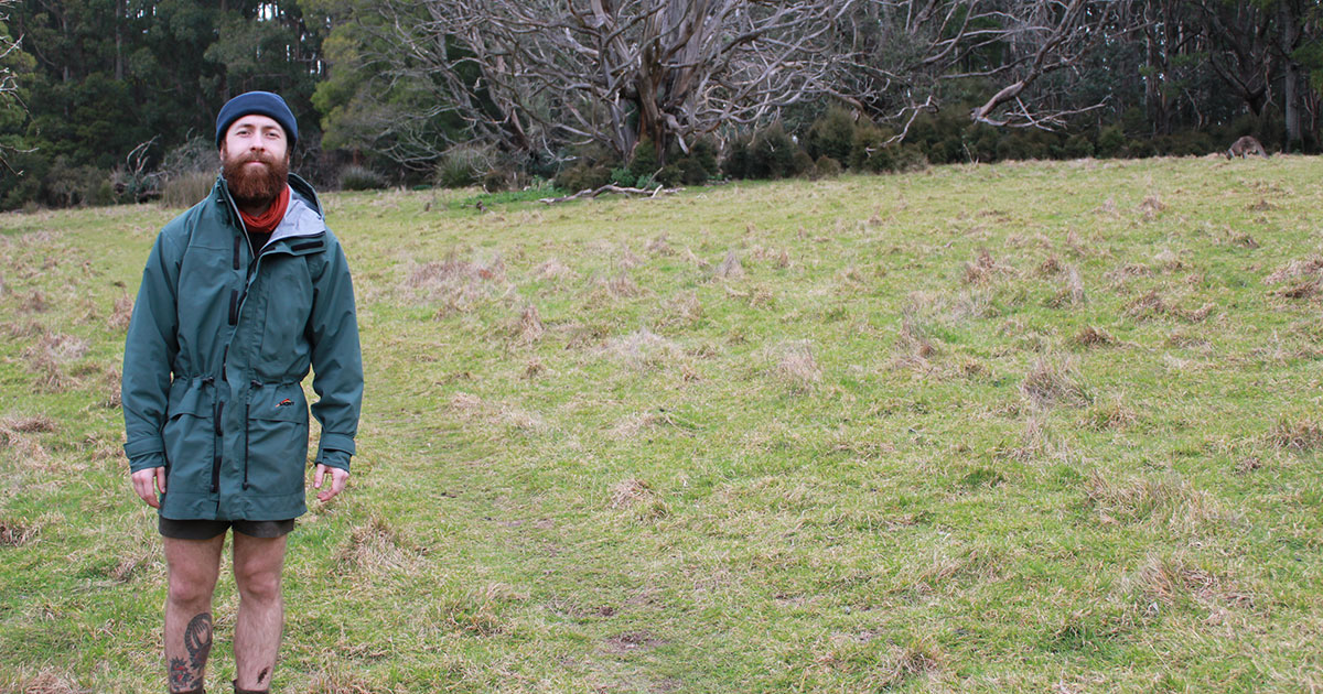Mont Austral rain jacket full length
