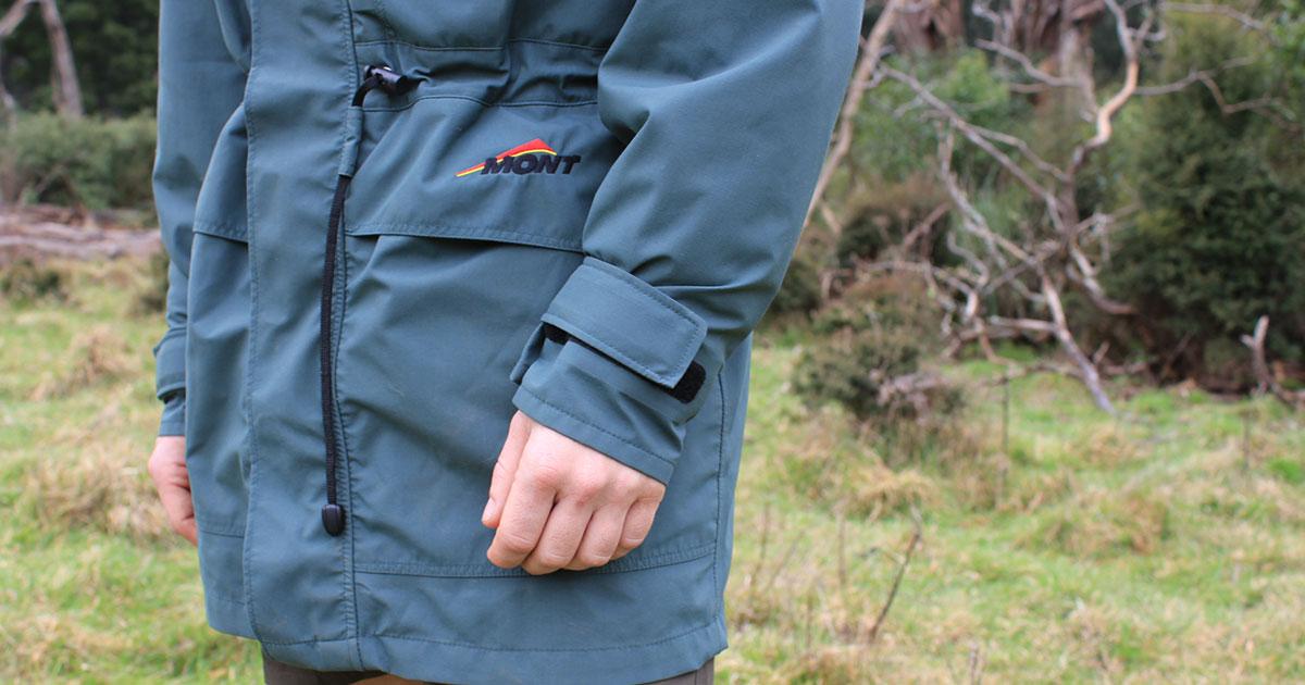 Mont Austral rain jacket pockets