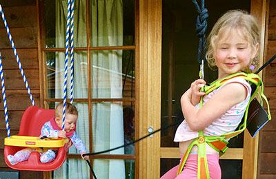 Kid's climbing harnesses