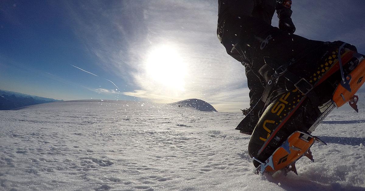 La Sportiva mountaineering boots