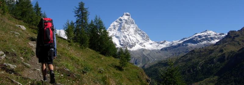 Monte Cervino (Matterhorn in Italy)