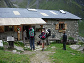 Refuge Balma. A small rural hut run as a multi business together with farming. France