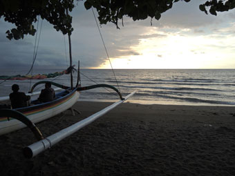 Pasir Putih Beach, North Java coast