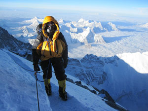 Simon Gower - Everest Summit Ridge